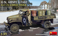 U.S. Army G7107 4X4 1,5t Cargo Truck, 1:35 (Pidemmällä Toimitusajalla)