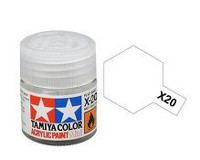 X-20A Acrylic Thinner 10ml