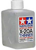 X-20A Acrylic Thinner 250ml