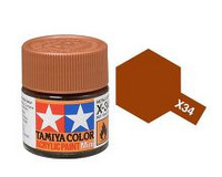 X-34 Metallic Brown 10ml