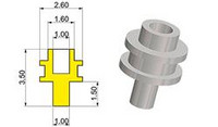 Cowling Drive Shaft type 'A' 1/43