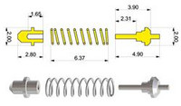 Shock Absorber type 'B' (4kpl)