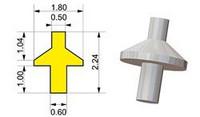 F1 Wheel Pins, 1/43