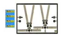 Rally Seat Belt 'Sabelt' 1/43