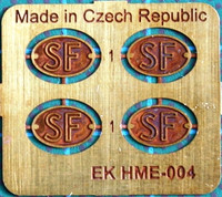 Old Finnish national plaques / SF-Kilvet 1:24/1:25