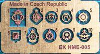 Emblem set / Keulamerkit 1:24/1:25