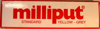 Milliput YELLOW-GREY STANDARD 113,4g