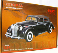 Opel Admiral with open cover 1:24