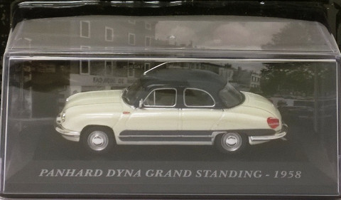 Panhard Dyna Grand Standing '58, white/blue 1:43