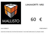 Lahjakortti 60€
