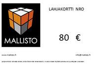 Lahjakortti 80€