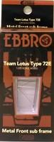 Lotus 72E '73 Front Metal Sub Frame  1:20