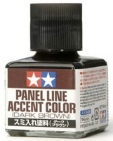 Panel Accent Color Dark Brown 40ml