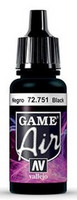 Black, Game Air 17ml