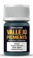 Dark Steel, Vallejo Pigments 35ml