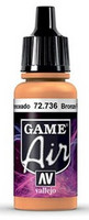 Bronze Fleshtone, Game Air 17ml