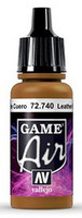 Leather Brown, Game Air 17ml