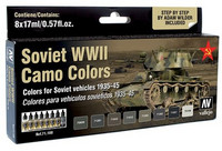 Soviet WWII Camo Colors 1935-1945