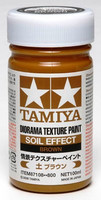 Diorama Texture Paint Soil Effect, Brown 100ml