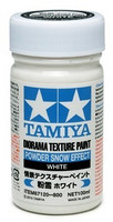 Diorama Texture Paint  Powder Snow Effect, White 100ml
