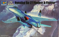Russian SU-27 Flanker B Fighter 1:72