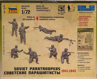 Soviet Paratroopers 1941-1943 1:72