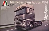 Mercedes-Benz Actros MP4 GigaSpace 1:24 (pidemmällä toimitusajalla