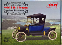 Ford Model T 1913 Roadster 1:24 (pidemmällä toimitusajalla)
