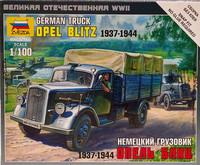 German Truck Opel Blitz 1937-1944, 1:100 (pidemmällä toimitusajalla)