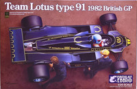 Lotus Type 91 '82 British GP, 1:20