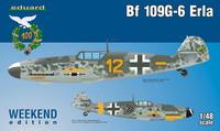 Bf 109G-6 Erla 1:48 (pidemmällä toimitusajalla)