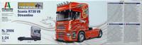 Scania R730 V8 Streamline 1:24 (pidemmällä toimitusajalla)