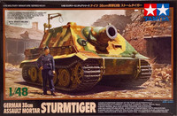 German 38cm Assault Mortar Sturmtiger 1:48