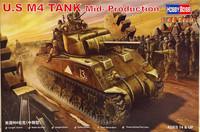 U.S. M4 Tank Mid-Production 1:48 (pidemmällä toimitusajalla)