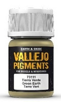 Green Earth, Vallejo Pigments 35ml
