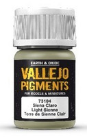 Light Sienna, Vallejo Pigments 35ml