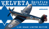 Supermarine Spitfire IX / VELVETA for Israel LIMITED EDITION 1:48