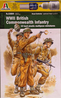 WWII British Commonwealth Infantry 1:48