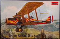 Airco (de Havilland) DH4 with Puma 1:48