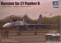 Russian SU-27 Flanker B, 1:144 (pidemmällä toimitusajalla)