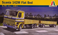 Scania 142M Flat Bed 1:24