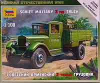 Soviet Military 3 ton Truck 1:100