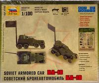 Soviet Armored Car BA-10 1:100