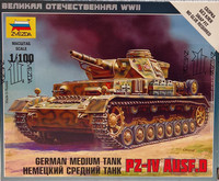German Medium Tank Pz.IV Ausf.D 1:100
