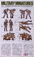 German Machine Gun Troops 1:35