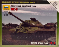 Soviet Heavy Tank IS-3, 1:100