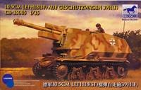 10,5cm LEFH18 (SF) Auf Geschutzwagen 39H(F) 1:35 (pidemmällä toimitusajalla)