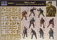 Who's That German Mountain Troops & Soviet Marines, spring 1943, 1:35