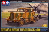 German Heavy Tractor SS-100, 1:48