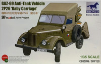 GAZ-69 Anti-Tank Vehicle 2P26